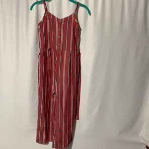 Girls striped jumpsuit from Abercrombie Kids 11/12